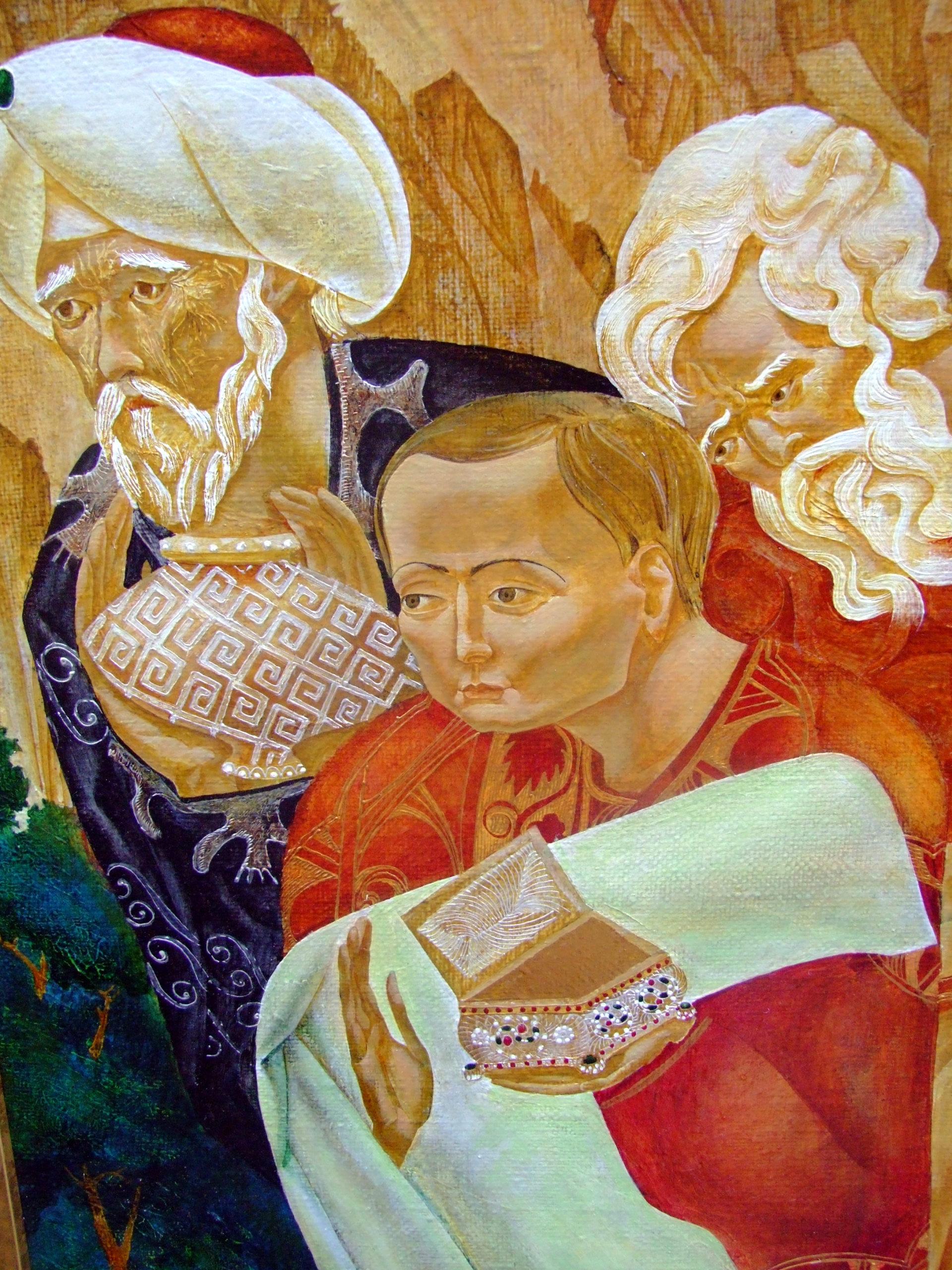 Denys Savchenko. Religious painting. Nativity