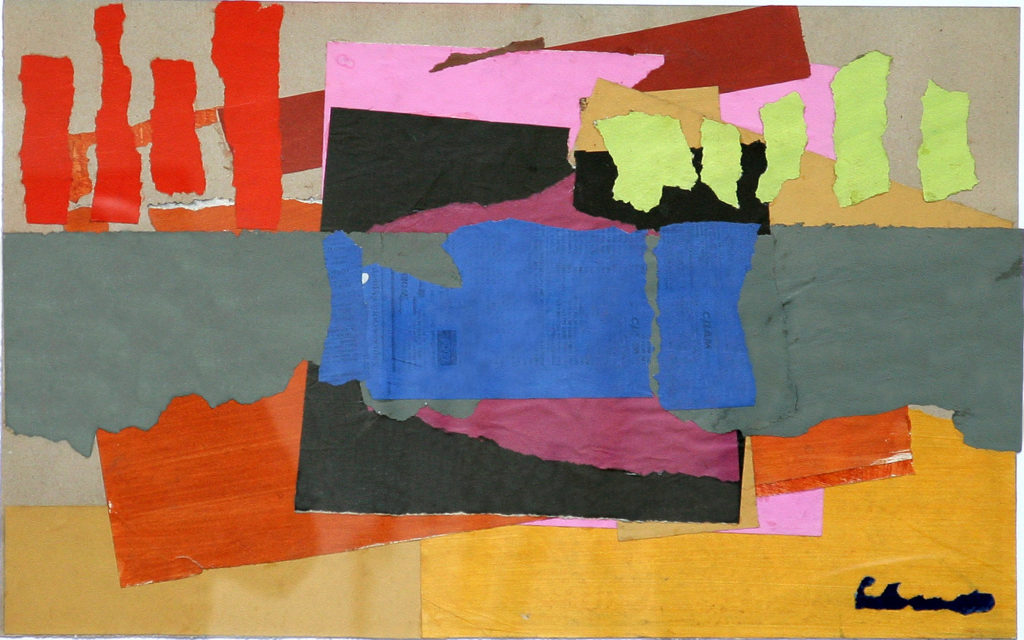 Denys Savchenko. Collage. Abstract