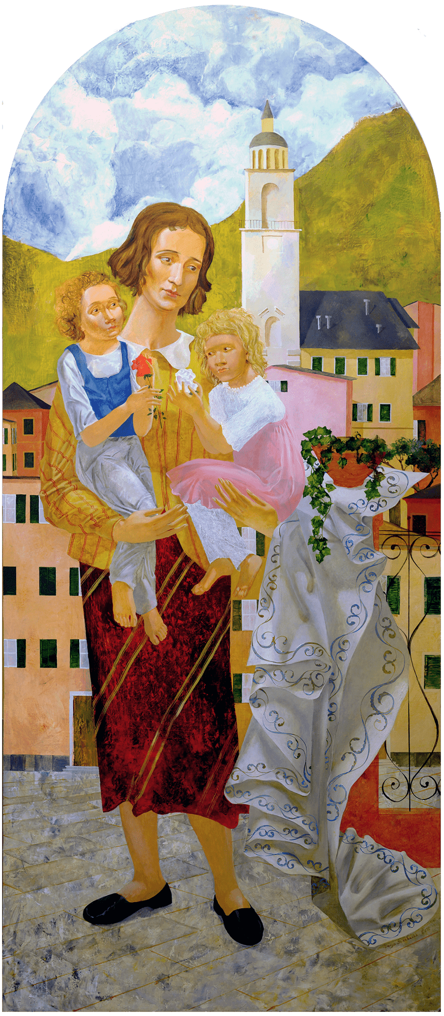 Denys Savchenko. Religious painting. Saint Gianna Beretta Molla. Genoa