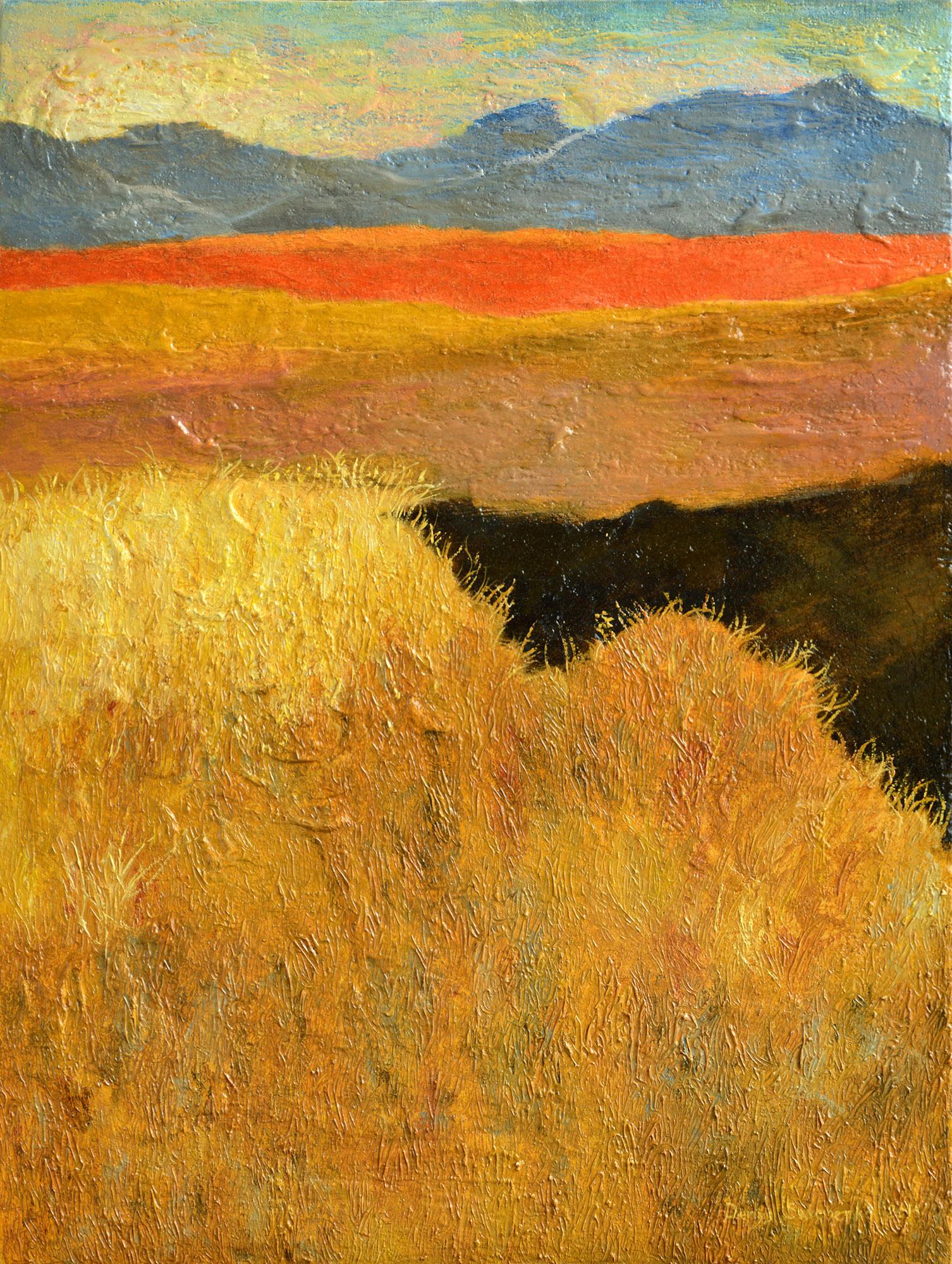 Denys Savchenko. Oil painting. Landscape. Near Danube
